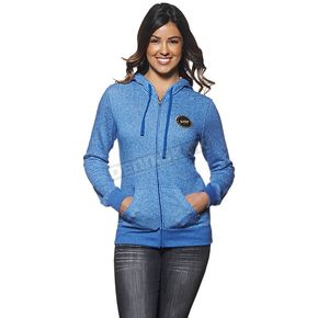 Thor Womens Blue Winners Circle Zip-Up Hoody - 3051-0856