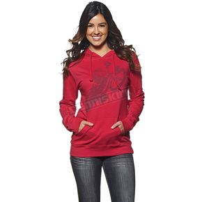 Thor Womens Pink Poppa Pullover Hoody - 3051-0880