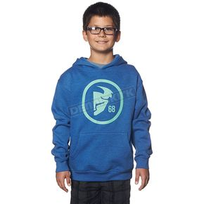 Thor Youth Royal Blue Gasket Pullover Hoody - 3052-0344