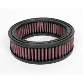 K & N High Flow Air Filter for Drag 7in. Round Air Cleaners - E-2470