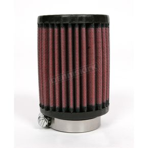K & N Universal Round/Straight Clamp-On Air Filter - 3 in. Diameter x 4 in. Long - RU-0400
