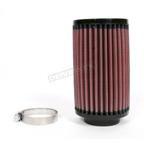 K & N Universal Round/Straight Clamp-On Air Filter - 3 1/2 in. Diameter x 6 in. Long - RU-0520