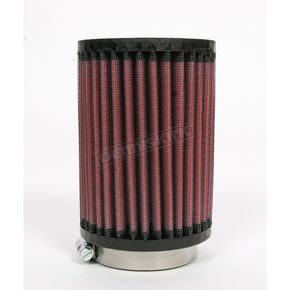 K & N Universal Round/Straight Clamp-On Air Filter - 3 1/2 in. Diameter x 5 in. Long - RU-0610
