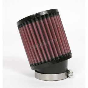 K & N Universal Round/Straight Clamp-On Air Filter - 3 1/2 in. Diameter x 4 in. Long - RU-1700