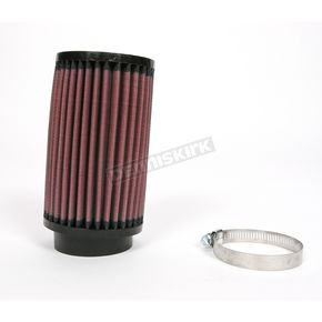 K & N Universal Round/Straight Clamp-On Air Filter - 3 1/2 in. Diameter x 6 in. Long - RB-0720