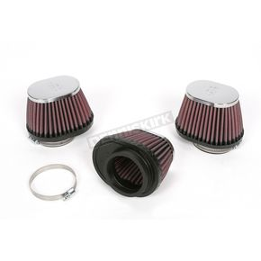 K & N Oval-Type Custom Clamp-On Air Filter Kit - RC-0983