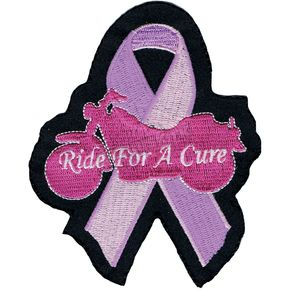 Lethal Threat Ride for a Cure Mini Embroidered Patch - MN32028