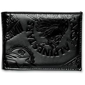 Alpinestars Black Big League Wallet - 10129200010A