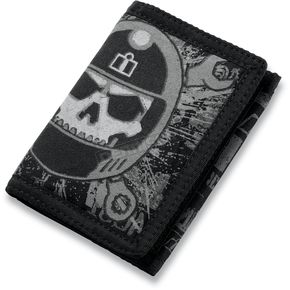 Icon Busted and Broken Tri-Fold Wallet - 3070-0664
