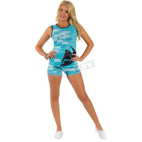 Thor Womens Disco Teal PJ's Short  - 3070-0798