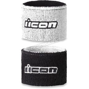 Icon White Wristbands - 3070-0842