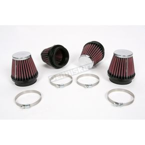 K & N Round/Tapered-Type Custom Clamp-On Air Filter Kit - RC-2344