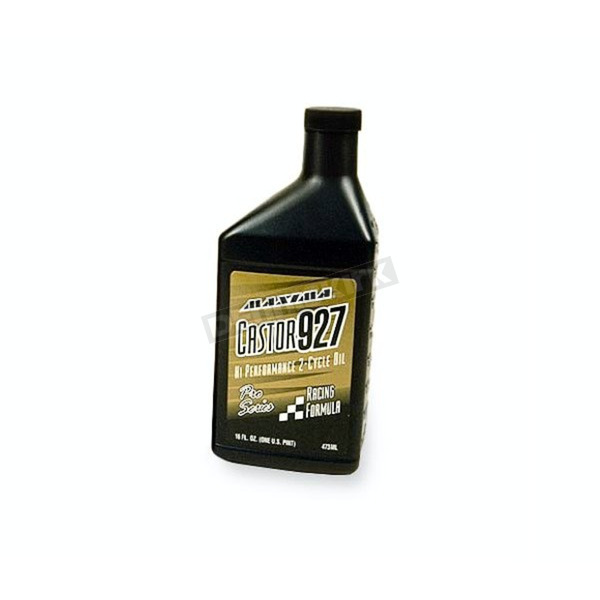 Maxima 1 Liter Pro Series Castor 927 Racing 2-Cycle Oil - 23901