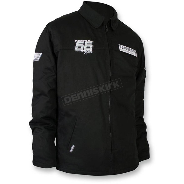 Throttle Threads Black Team Snow Jacket  - TT433J28BKMR