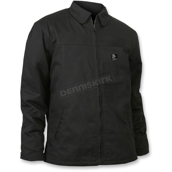 Throttle Threads Black Textile Originals Jacket - TT601J28BKMR
