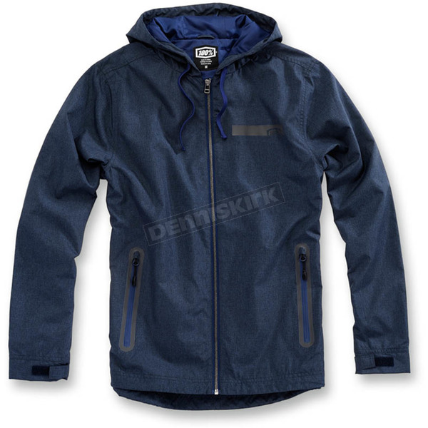 100% Navy Heather Storbi Jacket  - 39002-015-13