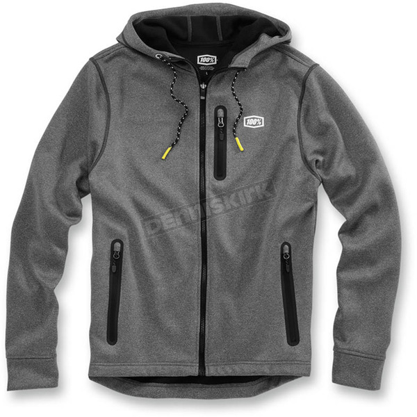 100% Charcoal Heather Council Jacket - 39004-011-10