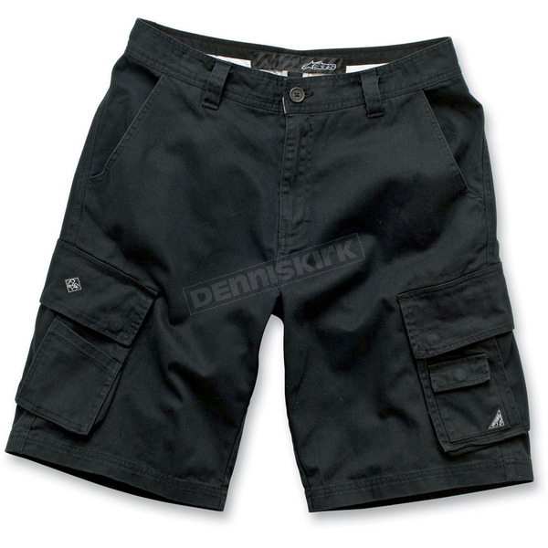 Alpinestars Black Folsom Shorts - 1012-230120A28