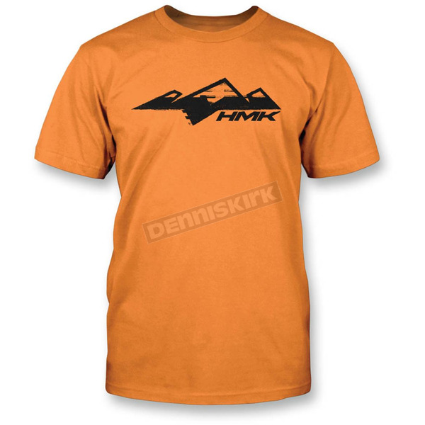 HMK Orange Classic T-Shirt - HM2SSTCLAOM