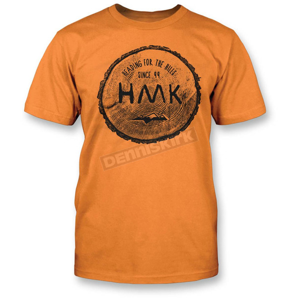 HMK Orange Rounder T-Shirt - HM2SSTROUOXL