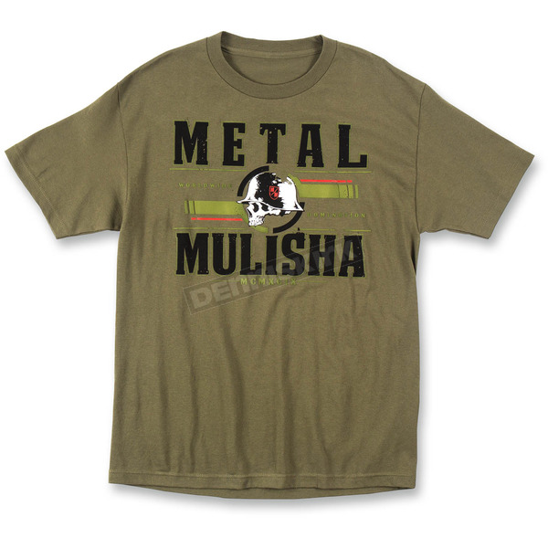Metal Mulisha Military Green Pulse T-Shirt - M445S18403MGNM