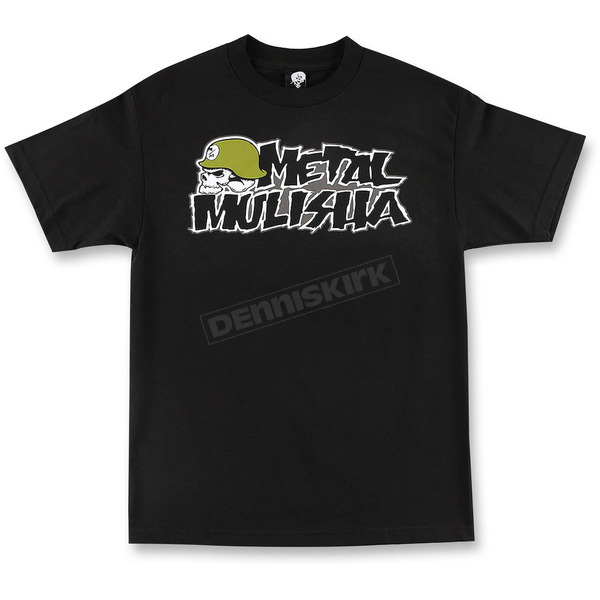 Metal Mulisha Black OG Core T-Shirt - M155S18139BLKM