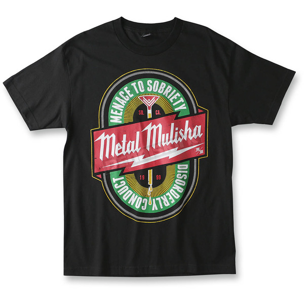 Metal Mulisha Black Sobriety T-Shirt - M155S18130BLK2X