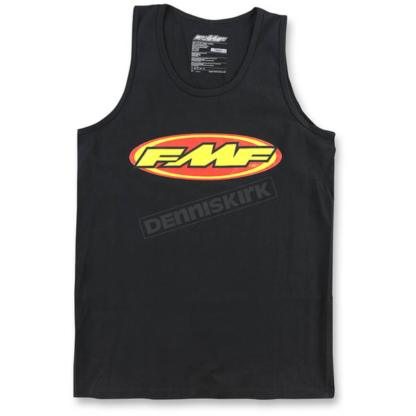 FMF Men's Black The Don Tank - F251S23102BLKXL