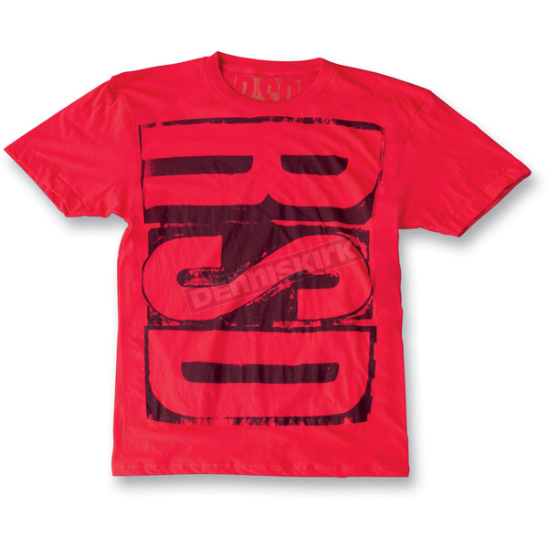 Roland Sands Design Red Block Logo T-Shirt - SSM00013R