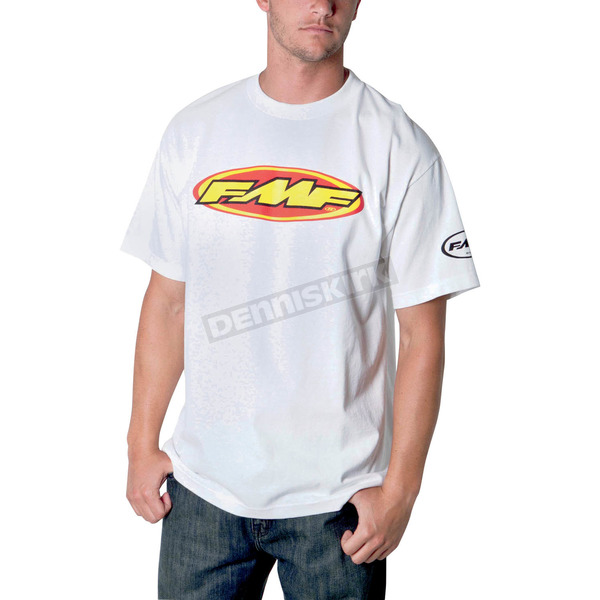 FMF White The Don T-Shirt - F211S18109WTS