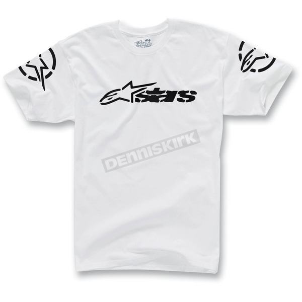 Alpinestars White Recognized T-Shirt - 1013-7205820L
