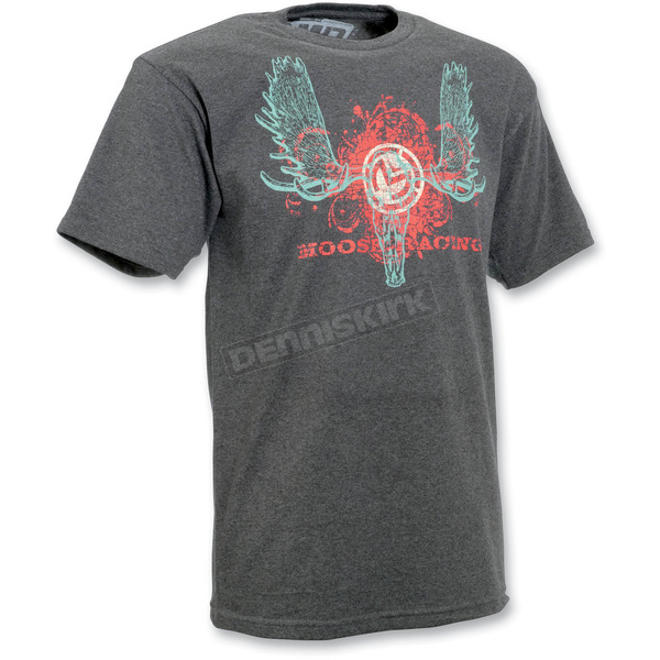 Moose Gray Skull Duggery T-Shirt - 30309076
