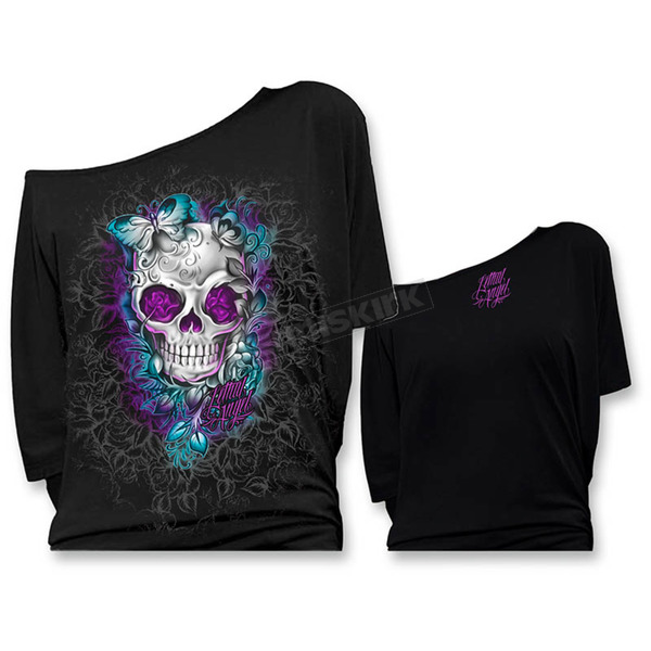 Lethal Threat Womens Off the Shoulder Shirts - LT20367XXL