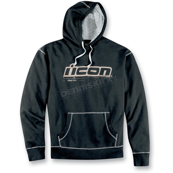 Icon Black County Hoody - 3050-1296