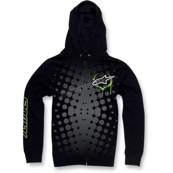 Alpinestars Black Daredevil Zip Hoody - 1013-5308110L