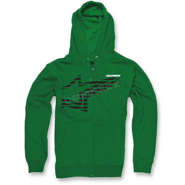 Alpinestars Kelly Green Plume Zip Hoody - 10335300260CM