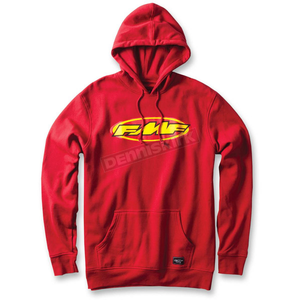 FMF Red Don Pullover Hoody - F33121105REDL