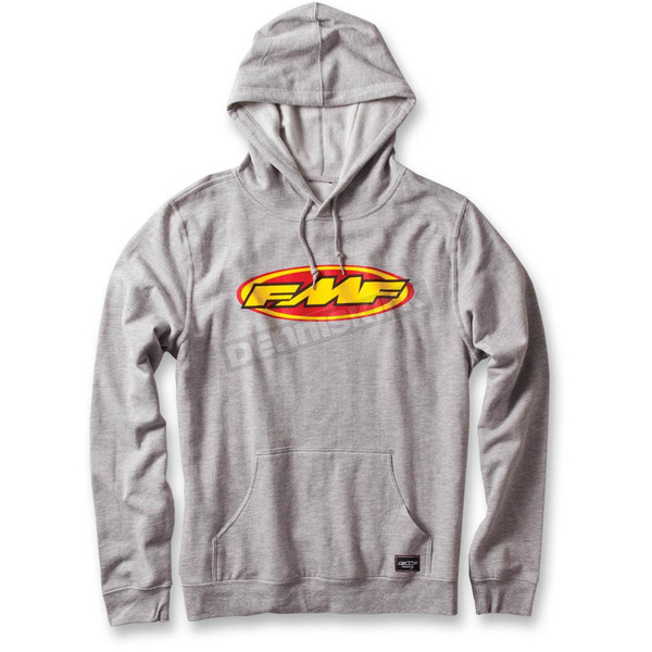 FMF Heather Gray Don Pullover Hoody - F33121105HGRL