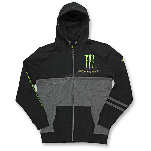 Pro Circuit Black Covert Monster Energy Hoody - 6511520-010