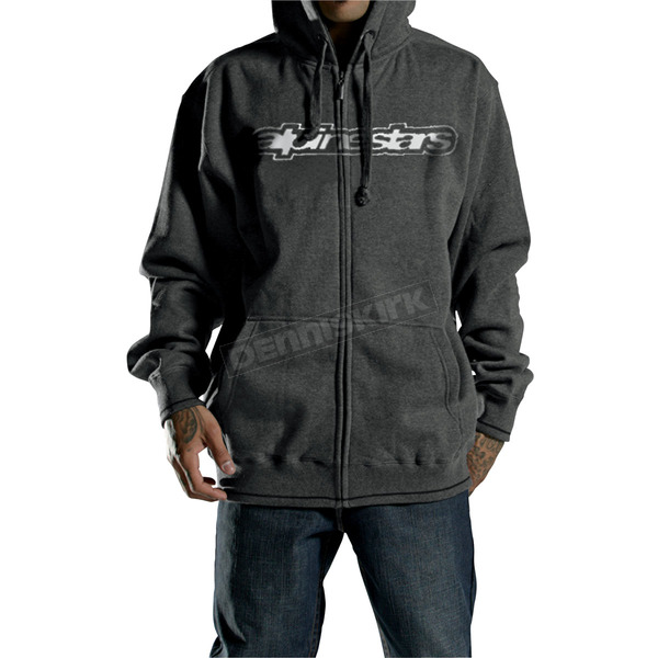 Alpinestars Youth O.G.O.V. Zip-Up Hoody - 424298-11-XL