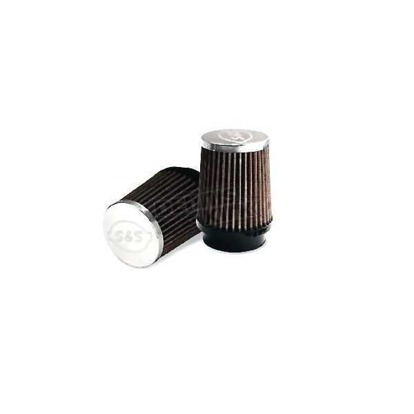 S&S Cycle Red Conical Air Filter - 17-1020