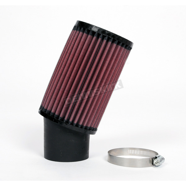 K & N Universal Round/Straight Clamp-On Air Filter - 3 3/4 in. Diameter x 6 in. Longlter  - RU-1770