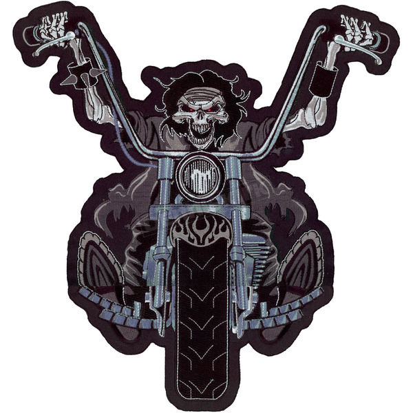 Lethal Threat Death Rider Embroidered Patch - LT30050