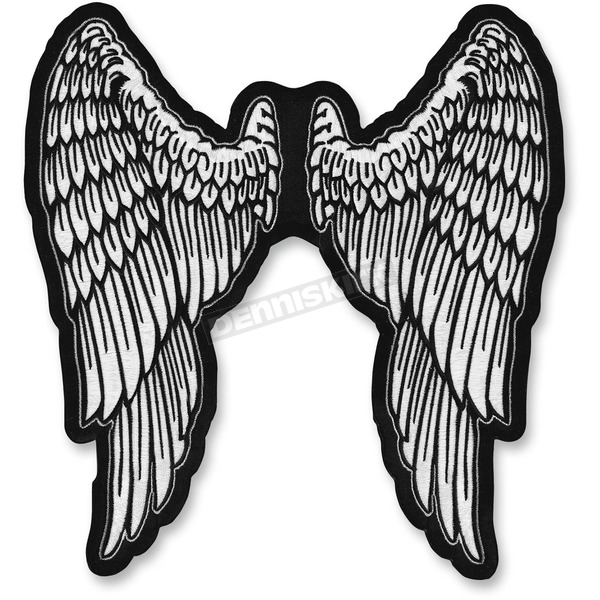 Lethal Threat Angels Wings Embroidered Patch - LT30159