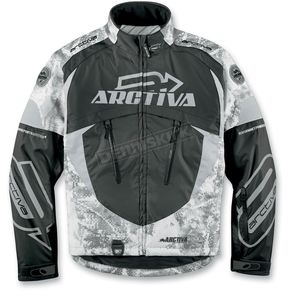 Arctiva Black Camo Comp 6 RR Shell Jacket - 31200900