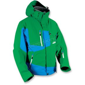 HMK Green/Blue Peak 2 Jacket - HM7JPEA2GB2X
