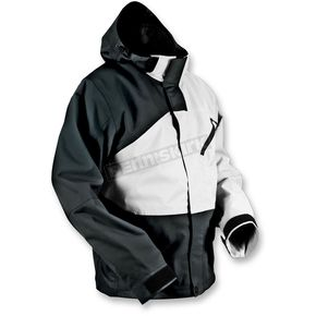 HMK Black/White Hustler 2 Jacket  - HM7JHUS2WM