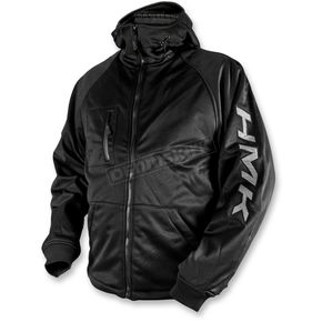 HMK Black/Tonal Hooded Tech Shell - HM7HTSBXL