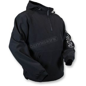 HMK Black Hooded Tech Pullover - HM7HTPB3XL