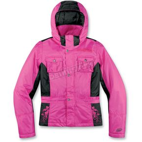 Arctiva Womens Pink Gem 3 Insulated Jacket - 3121-0262